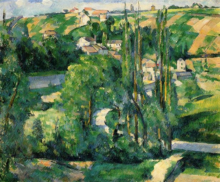 Cote du Galet, at Pontoise, c.1880 - Paul Cezanne