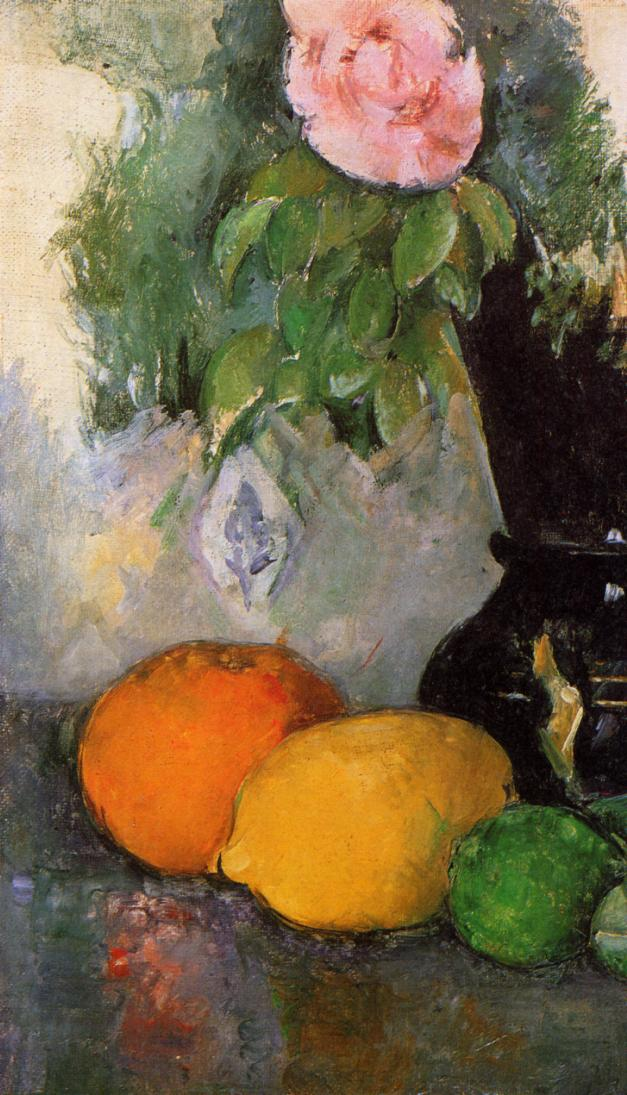 Flowers and Fruit - Paul Cezanne - 119.0KB