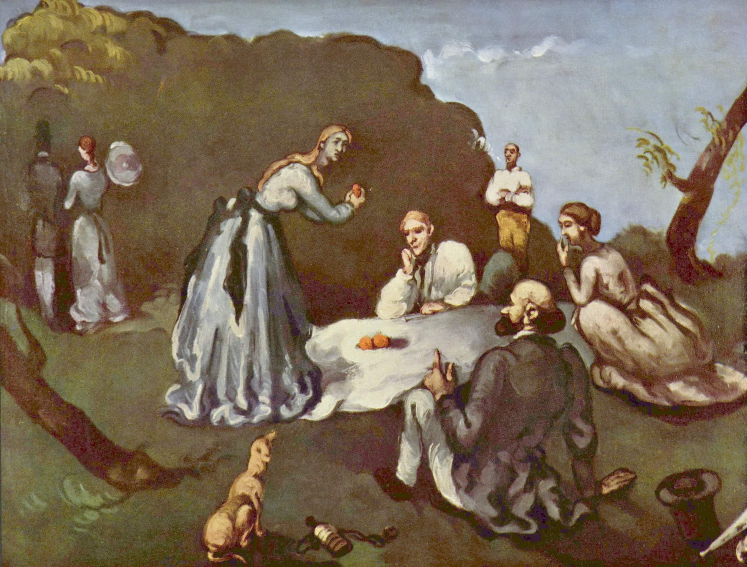 Мане, Моне и Сезанн или история одного завтрака | Наталья Моисеева
