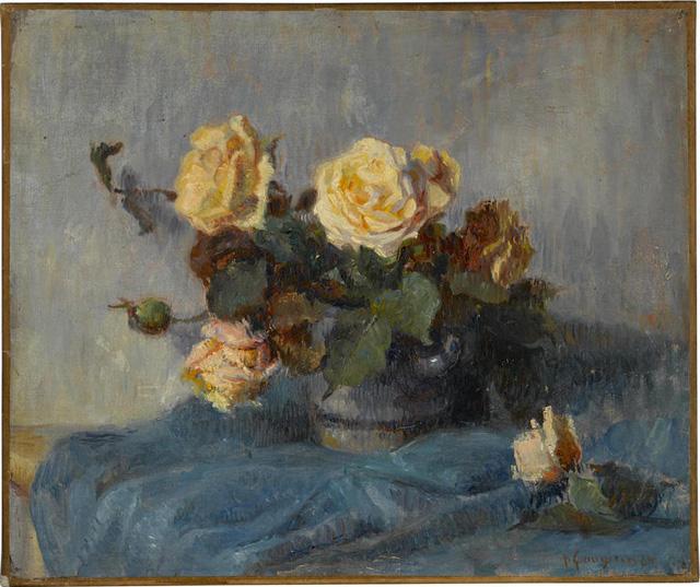 Rose Bouquet, 1884 - Paul Cézanne