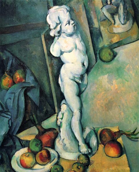 Still Life with Plaster Cupid, 1895 - Paul Cezanne