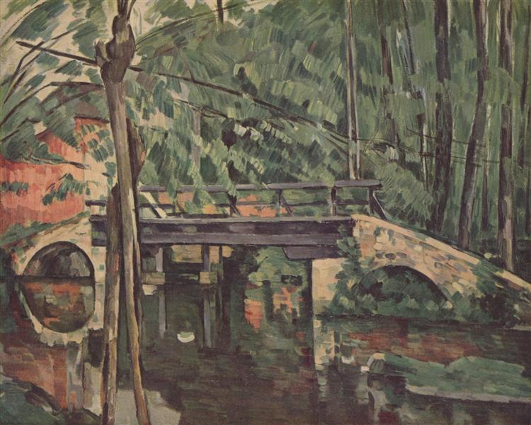 The Bridge at Maincy, 1879 - Paul Cezanne