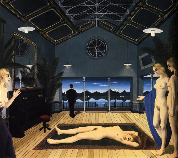Abandonment, 1964 - Paul Delvaux