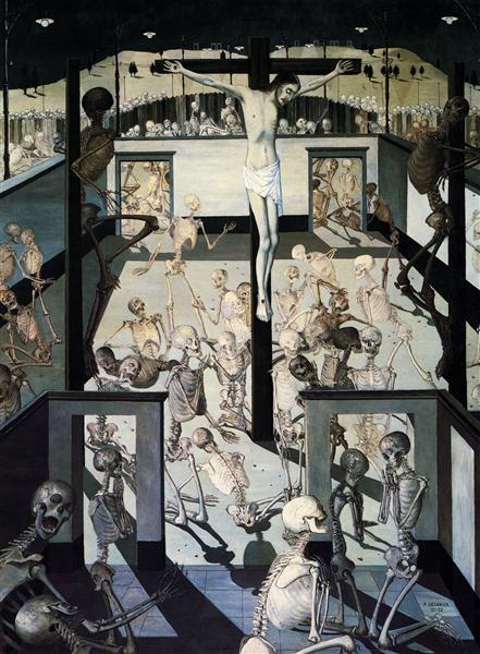 Crucifixion, 1957 - Paul Delvaux