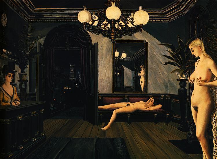 Night Train, 1947 - Paul Delvaux
