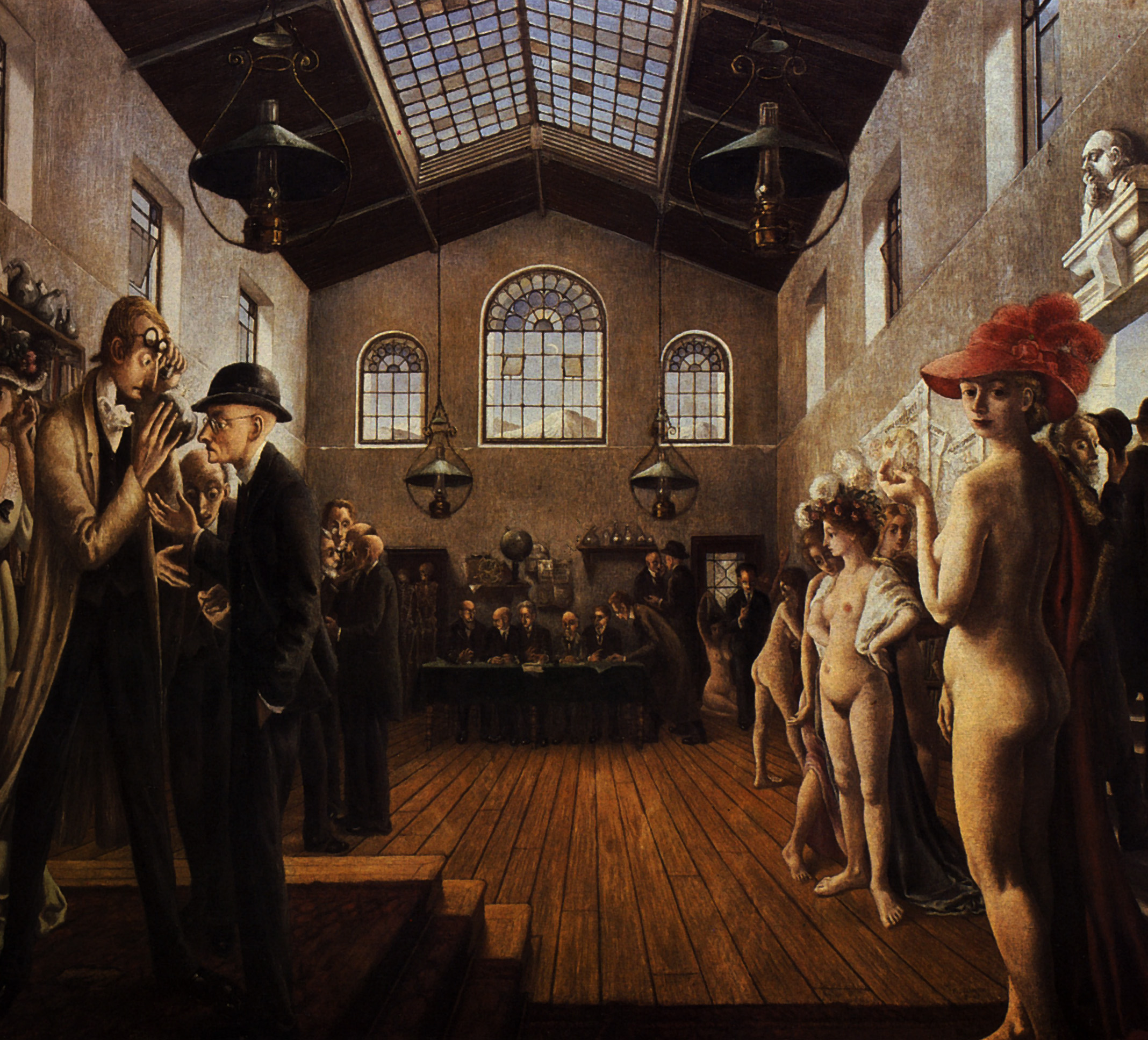 Paul Delvaux Gallery The Congress Paul Delvaux