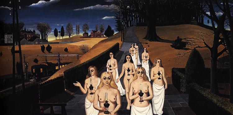 The Cortege, 1963 - Paul Delvaux