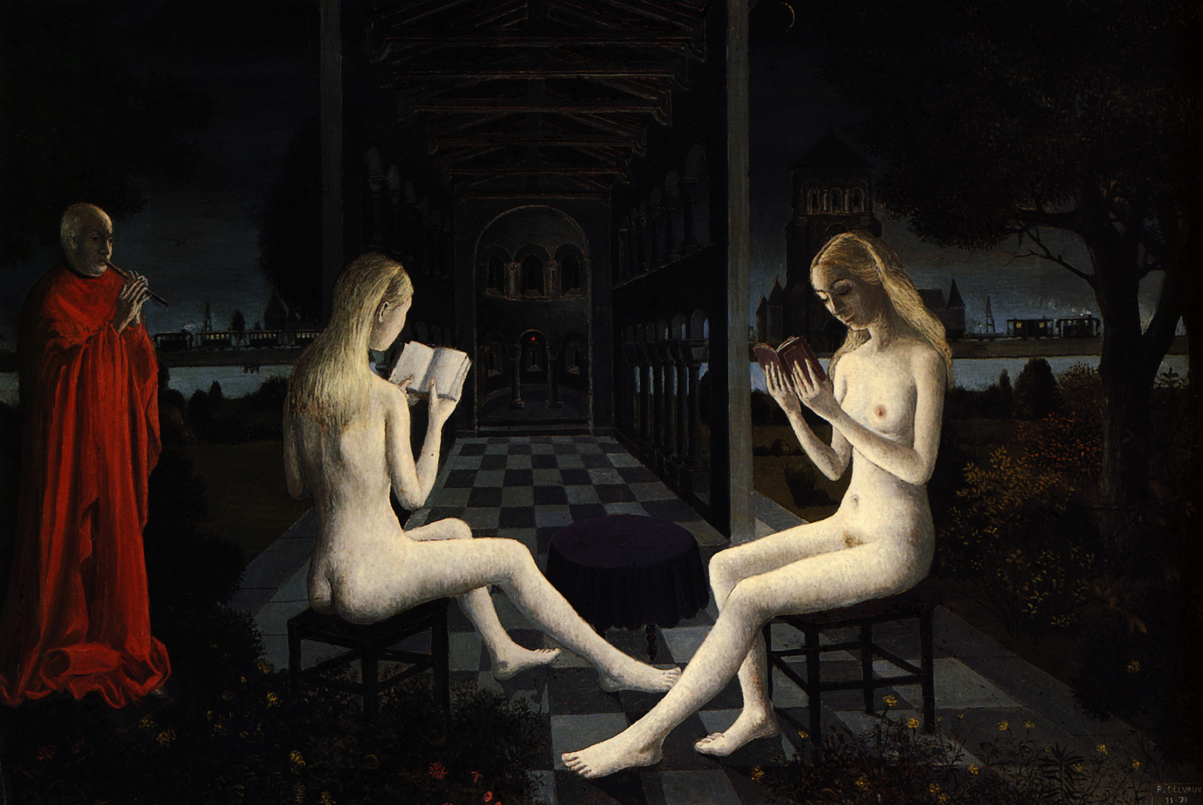 Paul Delvaux Gallery Artist Paul Delvaux