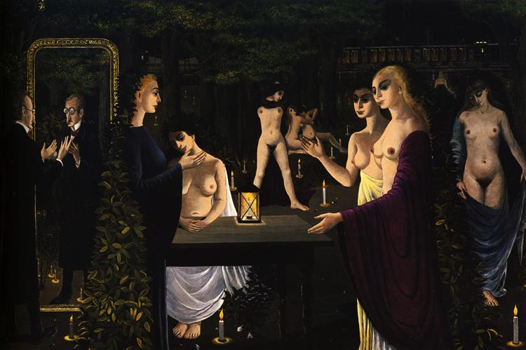The Sabbath, 1962 - Paul Delvaux