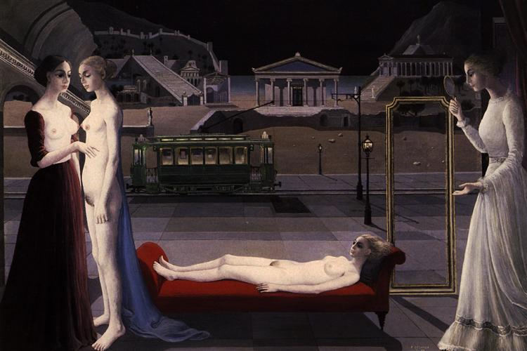 The Visit to Ephesus, 1973 - Paul Delvaux