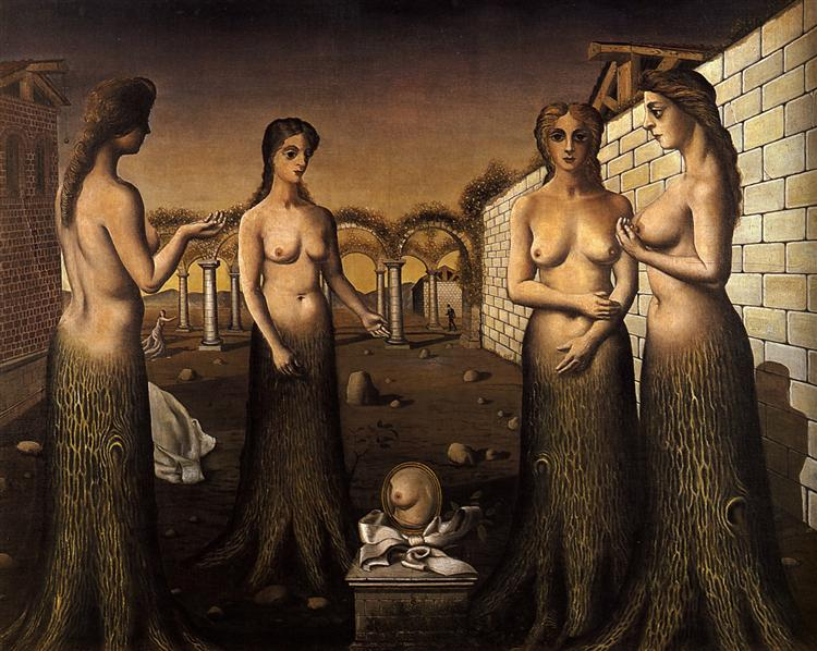 Women-Trees, 1937 - Paul Delvaux