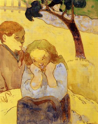 Human misery - Paul Gauguin