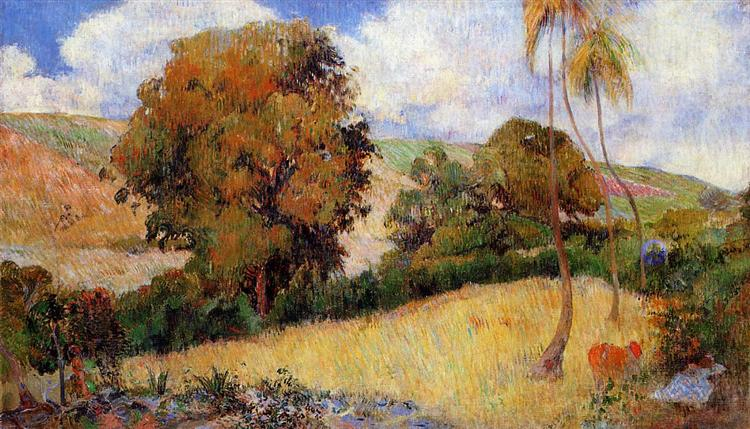 Meadow in Martinique, 1887 - Paul Gauguin