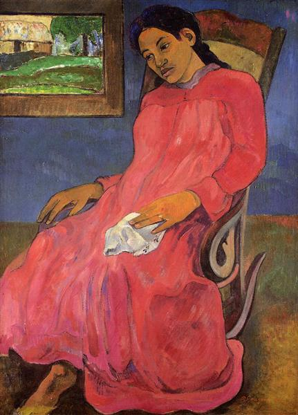 Melancholic, 1891 - Paul Gauguin