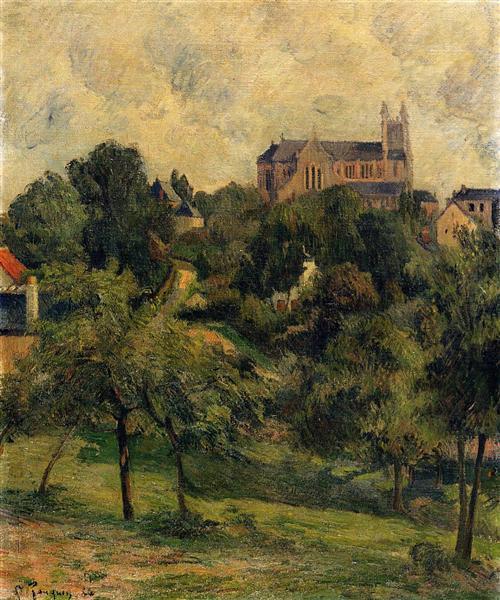 Notre Dame des Agnes, 1884 - Paul Gauguin
