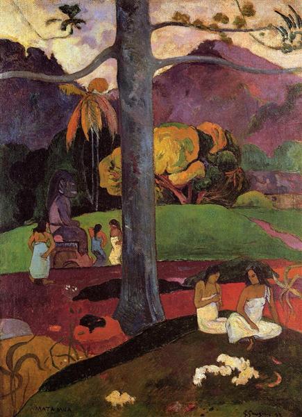 Olden times, 1892 - Paul Gauguin