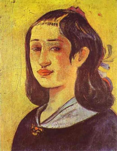 Portrait of a mother, 1894 - Paul Gauguin