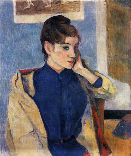 Portrait of Madelaine Bernard, 1888 - Paul Gauguin