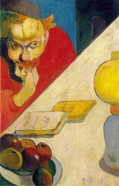 Portrait of Meyer de Haan by Lamplight, 1889 - Paul Gauguin