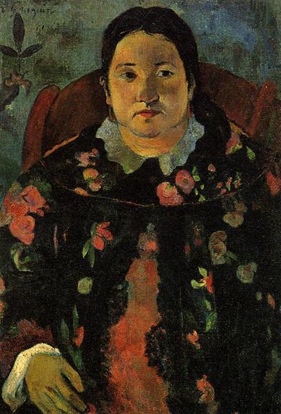 Portrait of Suzanne Bambridge, 1891 - Paul Gauguin