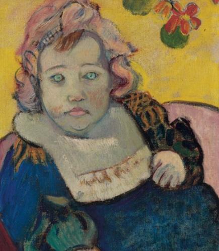 The child, 1895 - Paul Gauguin