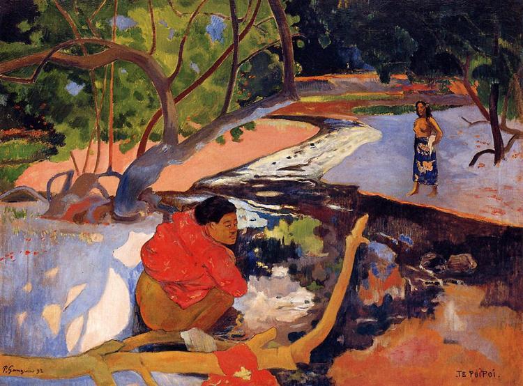 The morning, 1892 - Paul Gauguin