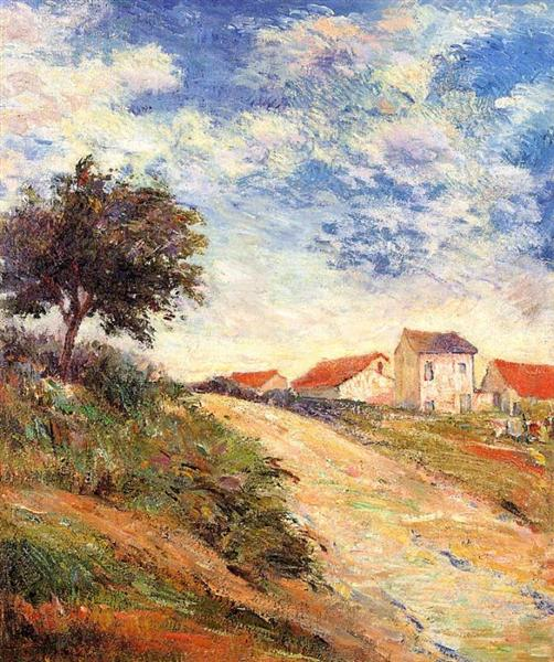 The road up, 1884 - Paul Gauguin