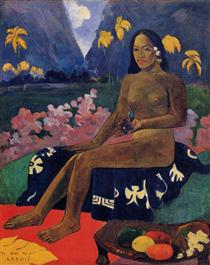 The Seed of the Areoi - Paul Gauguin