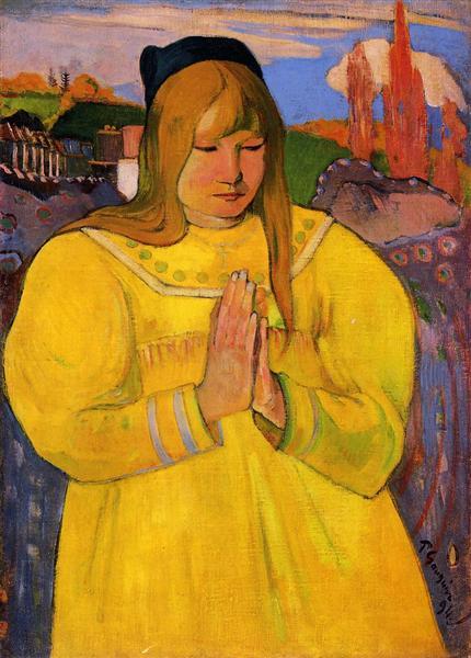 Young Christian Girl, 1894 - Paul Gauguin