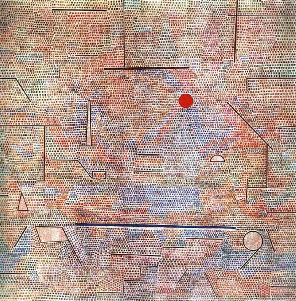 Cacodemonic, 1916 - Paul Klee