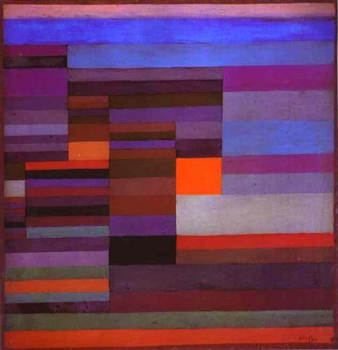 Fire Evening by Paul Klee