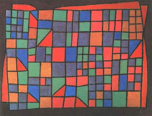 Glass Facade by Paul Klee