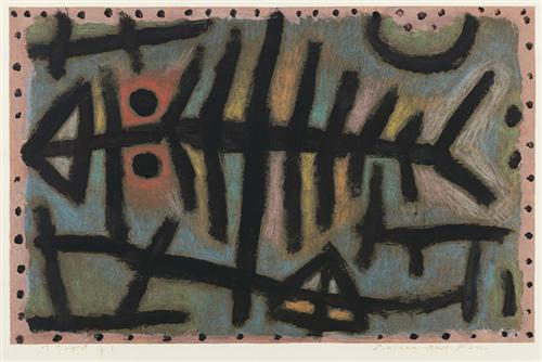 Mess of fish  - Paul Klee
