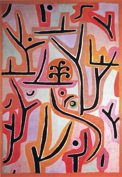 Park Bei Lu, 1938 - Paul Klee