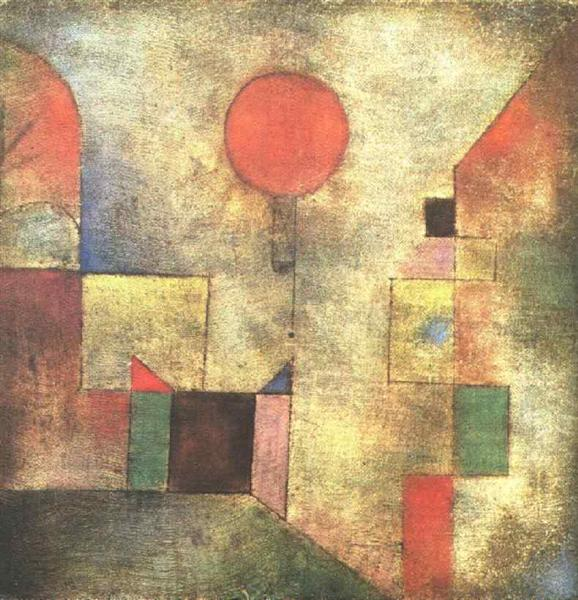 Red Balloon, 1922 - Paul Klee