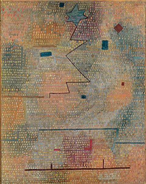 Rising Star, 1923 - Paul Klee