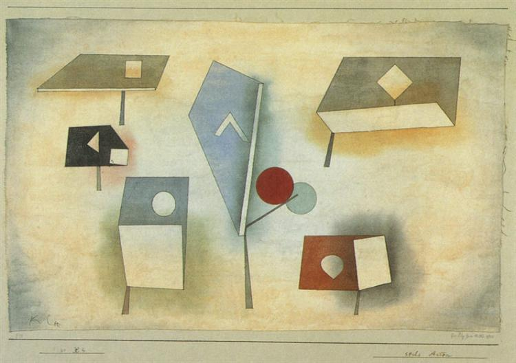Sixspecies, 1921 - Paul Klee