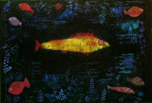 The Goldfish - Paul Klee