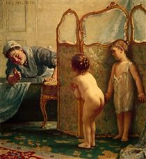 Before The Bath - Paul Peel