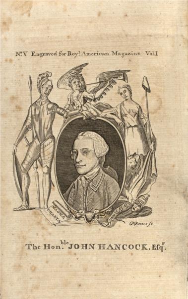 John Hancock, 1774 - Paul Revere
