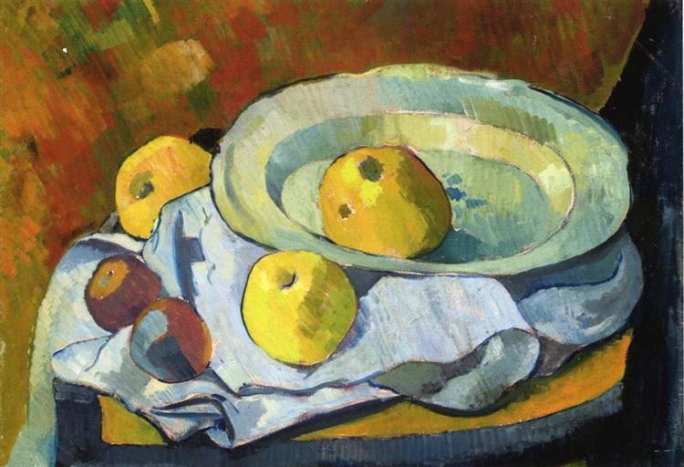 Plate of Apples, c.1891 - Paul Serusier