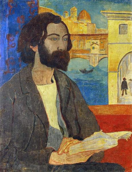 Portrait of Emile Bernard at Florence, 1893 - Paul Serusier