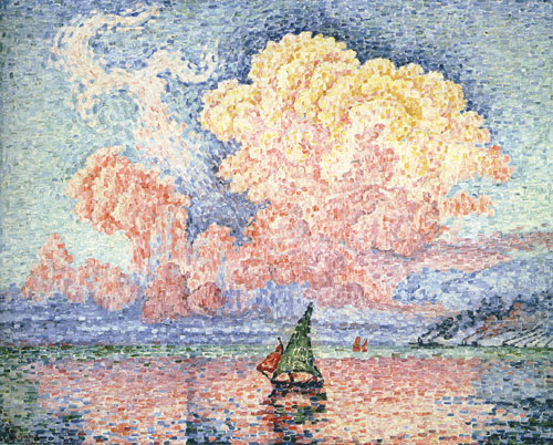 Antibes, the Pink Cloud, 1916 - 保罗·希涅克