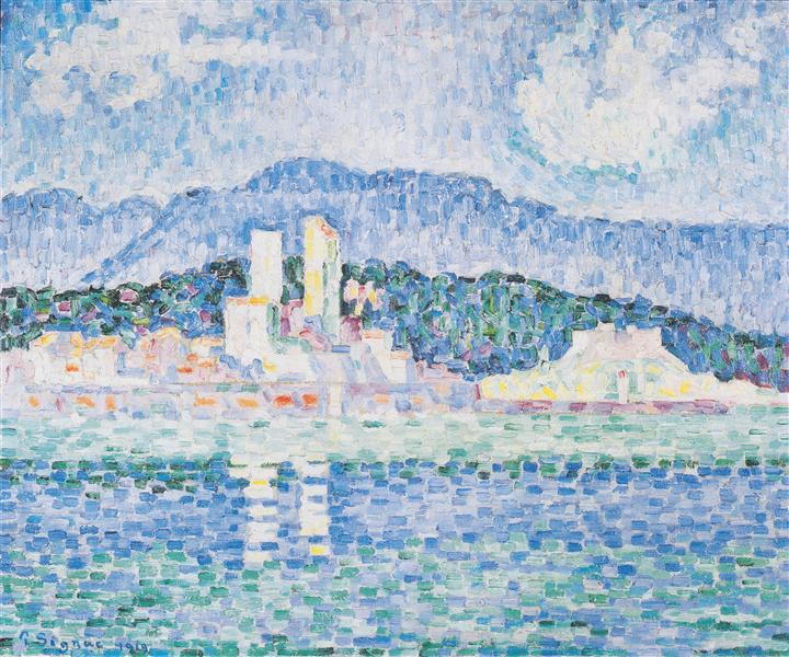 Antibes, thunderstorms, 1919 - Paul Signac