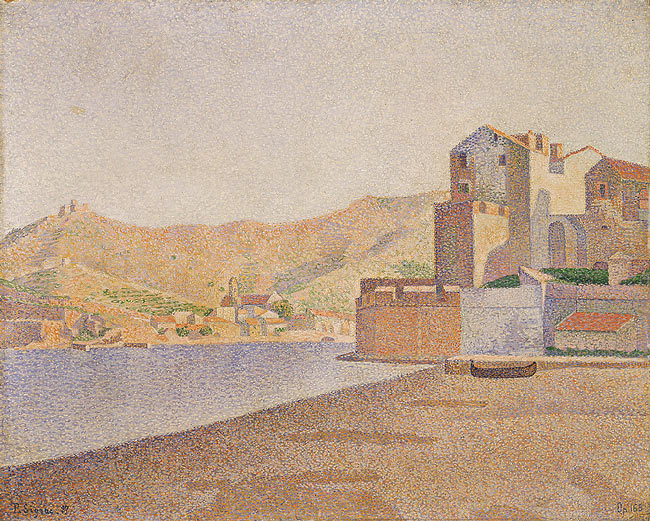 The Town Beach, Collioure, Opus 165, 1887 - Paul Signac