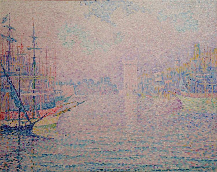 Marseille, an Old Port, 1906 - Paul Signac