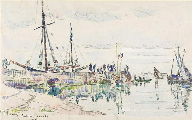 Port Louis Lomalo - Paul Signac