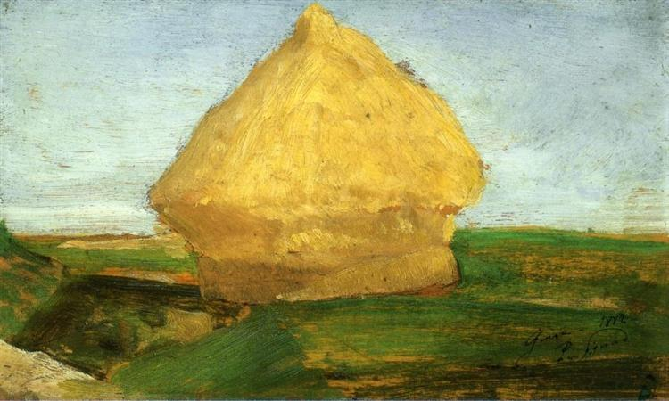 The Haystack, 1882 - Paul Signac