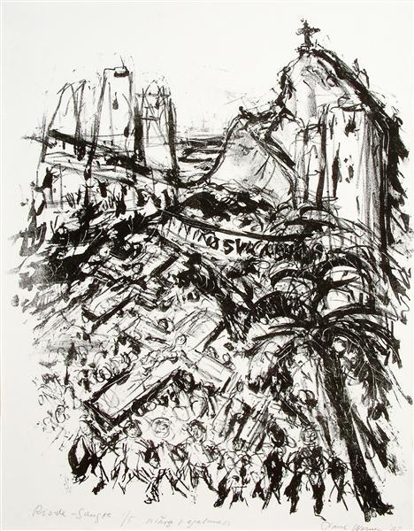 Rio de Sange - River of Blood, 1992 - Paul Werner