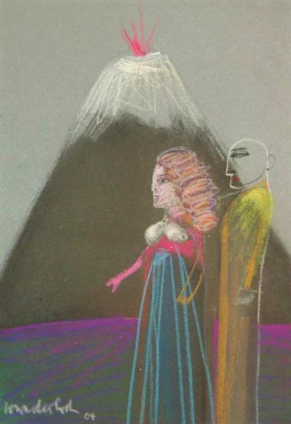 Mountain, 2004 - Paul Wunderlich